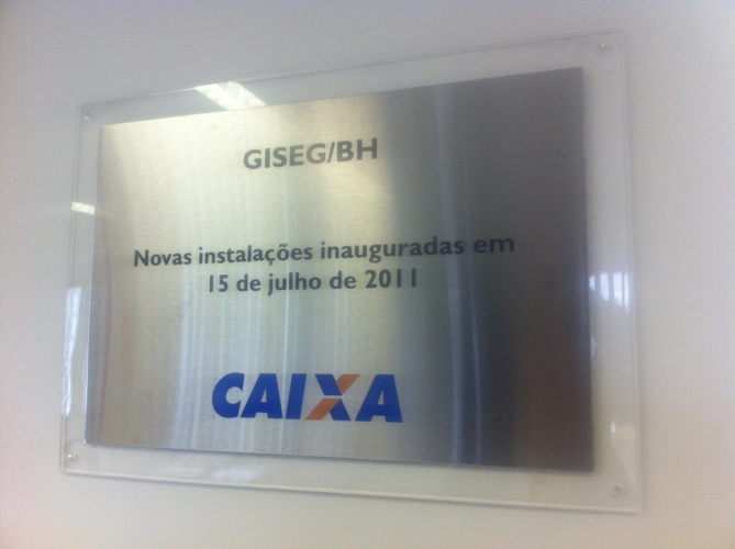 Placa em impress?o digital